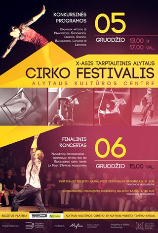 PERKELTAS | X-asis tarptautinis Alytaus cirko festivalis