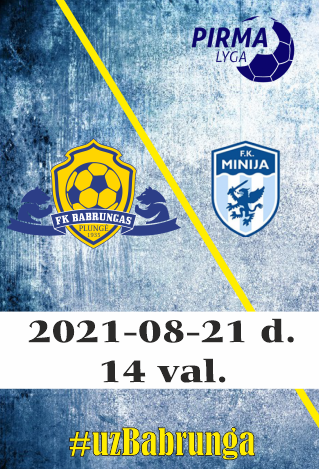 FK Babrungas - FK Minija