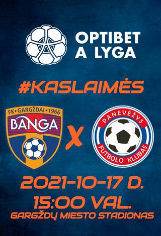 BANGA - FK PANEVĖŽYS