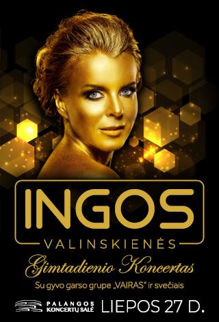 Ingos Valinskienės gimtadienio koncertas