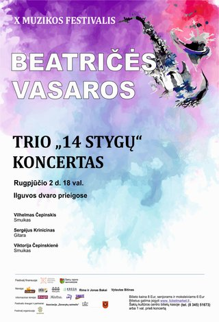 "X muzikos festivalis ""Beatričės vasaros"" Trio"