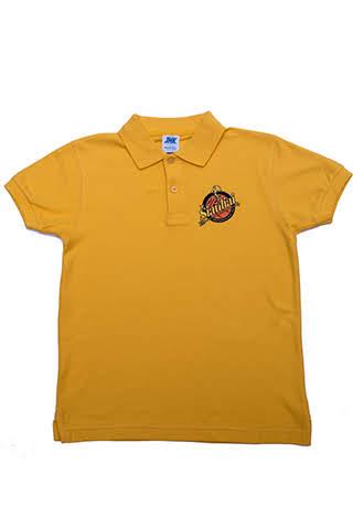 Vaikiški polo marškinėliai su siuvinėtu logotipu