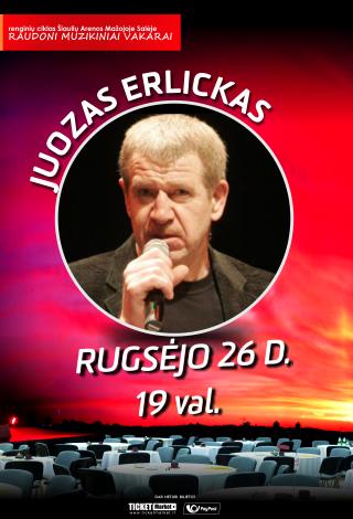 Juozas Erlickas su naujausia programa