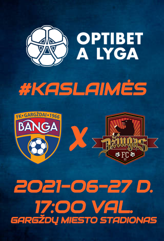 BANGA - FC DŽIUGAS