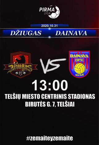 FC Džiugas - DFK Dainava