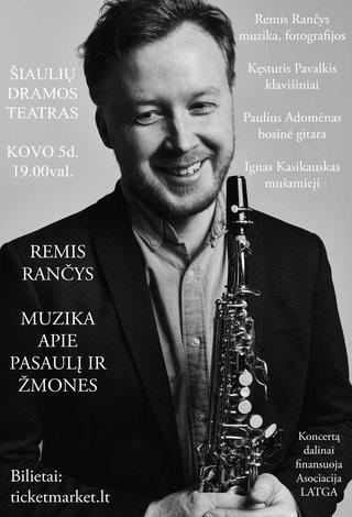 Remis Rančys – Muzika apie pasaulį ir žmones