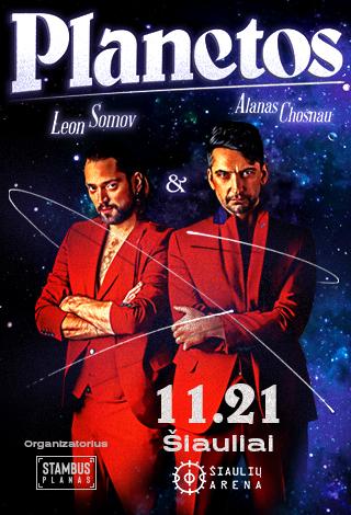 Leon Somov&Alanas Chošnau. Planetos
