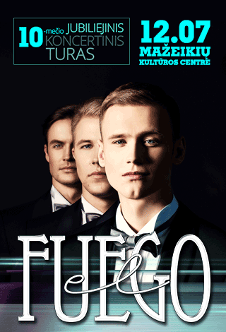 """Jubiliejinis """"el Fuego"""" 10-mečio turas"""