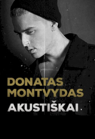 Donatas Montvydas akustiškai