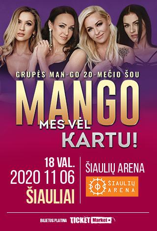 MANGO 20-MEČIO KONCERTAS