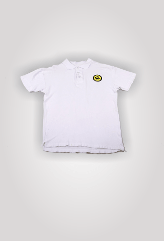 FK GINTRA klubo POLO marškinėliai (balti)