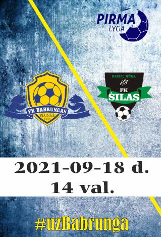 FK Babrungas - FK Šilas