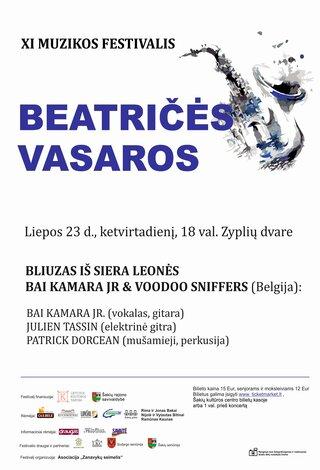 """XI muzikos festivalis """"Beatričės vasaros"""" BLIUZAS IŠ SIERA LEONĖS"""
