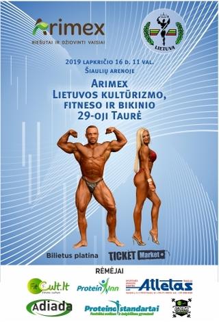 Arimex Lietuvos kultūrizmo, fitneso ir bikinio taurė