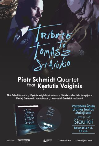 Džiazo koncertas: Tribute to Tomasz Stanko