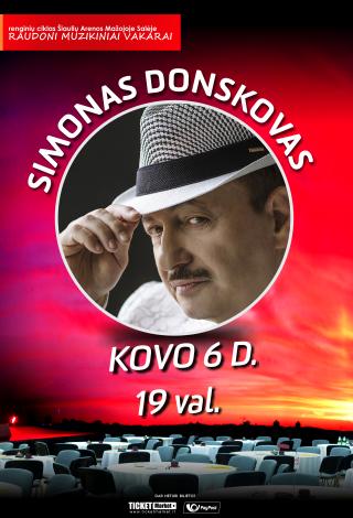 Raudoni muzikiniai vakarai: Simonas Donskovas