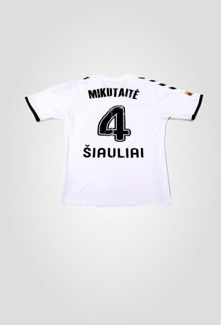 Oficialūs FK GINTRA klubo marškinėliai (balti)