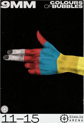 Colours of Bubbles   9mm: naujo albumo pristatymo koncertas