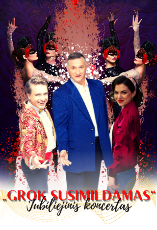 """Viktoro Prapro (''Hiperbolė'') Jubiliejinis koncertas """"GROK SUSIMILDAMAS"""""""
