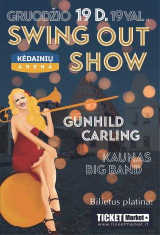 Swing Out Show: Gunhild Carling su Kauno Bigbendu