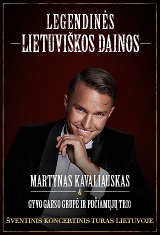 Kalėdinis M.Kavaliausko show: Legendinės lietuviškos dainos
