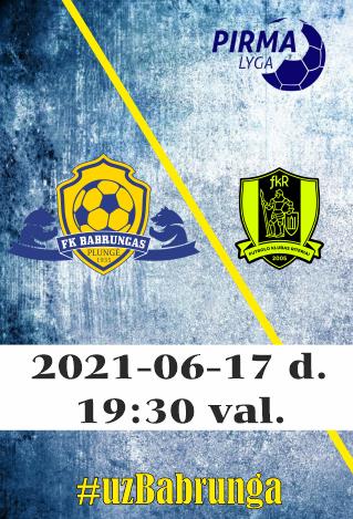 FK Babrungas - FK Riteriai B