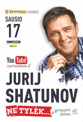 Jurij Shatunov su naujausia programa