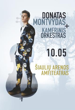 Donatas Montvydas + kamerinis orkestras