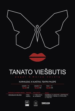 """""""Grubusis"""" teatras pristato pagal Andrė Maurois novelę """"Tanato viešbutis"""""""