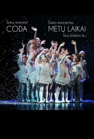 """Šokio koncertas visai šeimai """"Metų laikai. Nuo baleto iki ..."""" Šokių mokykla """"Coda"""", Klaipėda  Menų festivalis vaikams """"Kurhauzo nykštukas"""""""