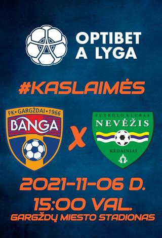 BANGA - FK NEVĖŽIS
