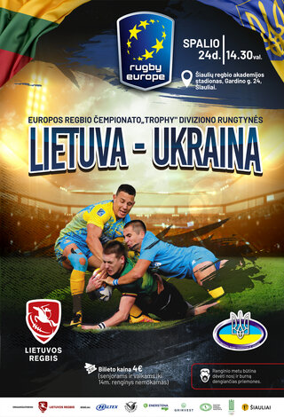 Europos regbio čempionatas   Lietuva - Ukraina