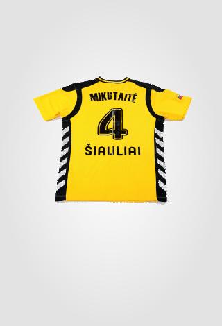Oficialūs FK GINTRA klubo marškinėliai (geltoni)
