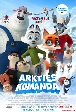 """Animacinis filmas """"Arkties komanda"""""""