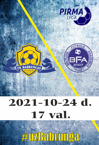 FK Babrungas - Baltijos Futbolo Akademija
