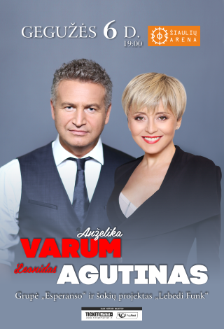 Leonidas Agutinas ir Anželika Varum | Šiauliai