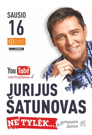 Jurijus Šatunovas su naujausia programa