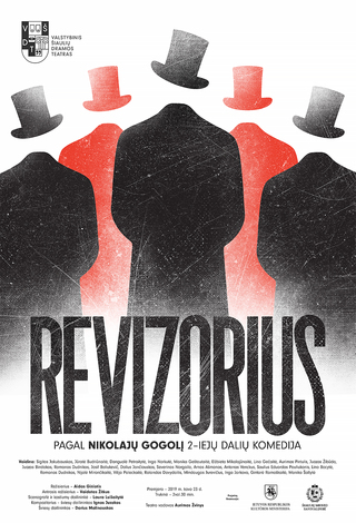 PREMJERA! Revizorius