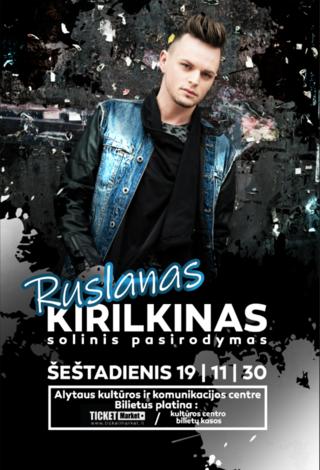 Ruslano Kirilkino solinis koncertas