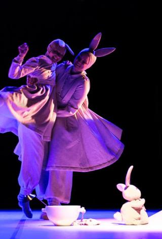 """BUS PERKELTAS   Spektaklis visai šeimai """"Baltoji lopšinė"""" Šeiko šokio teatras, Klaipėda Menų festivalis vaikams """"Kurhauzo nykštukas"""""""