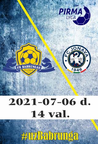 FK Babrungas - FK Jonava