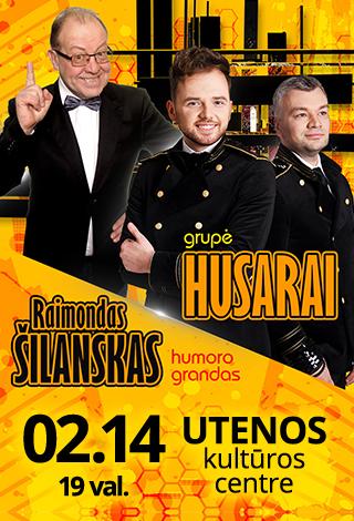 Grupė Husarai ir Raimondas Šilanskas