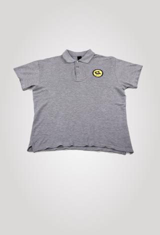 FK GINTRA klubo POLO marškinėliai (pilki)
