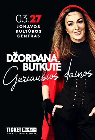 NEĮVYKS | Džordana Butkutė. Geriausios dainos