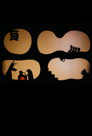 """Spektaklis visai šeimai """"Mikė Pūkuotukas ir KITI"""" Rankų šešėlių teatras """"Budrugana"""", Vilnius Menų festivalis vaikams """"Kurhauzo nykštukas"""""""