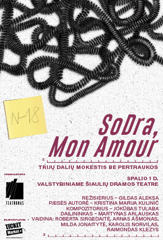"PREMJERA: ""SoDRa, Mon Amour"" (N-18)"