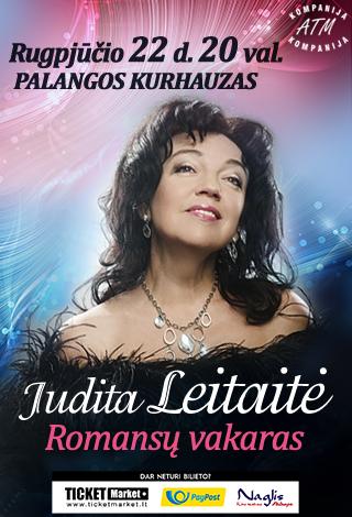 Judita Leitaitė. Romansų vakaras